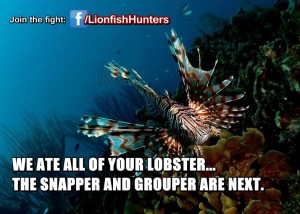 Lionfish Hunting to Save our Reefs - Join the WLHA