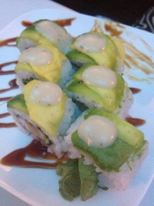 Caesar Maki Lionfish Sushi from E Sushi Shap in Aruba
