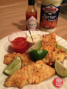 Sotuhern Fried Lionfish Nuggets
