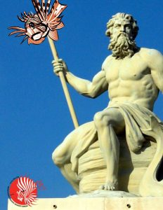 Poseidon Speared a Lionfish