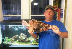 New largest lionfish world record
