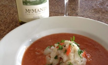 Beat the Heat with Lionfish Ceviche in Watermelon Gazpacho!