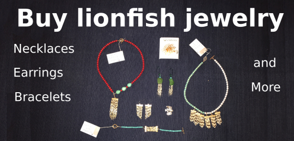 Click here to buy lionfish jewelry