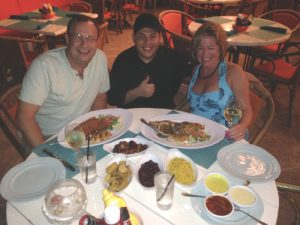 Chef Peter at Gilligans in Aruba was a little nervous about his first time cooking lionfish but he did a great job with it!