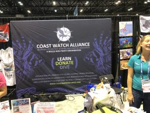 Coast Watch Alliance booth
