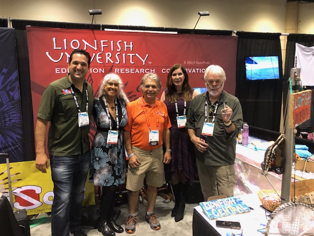Lionfish interest at DEMA '19